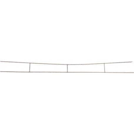Sommerfeldt 183 Luftledningstråd, extra tunn kopparpläterad stål, längd 380 mm
