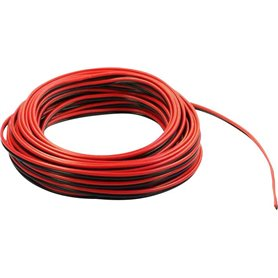 Beli-Beco L2218/5.1 Kabel, 2-delad, röd/svart, 5 meter