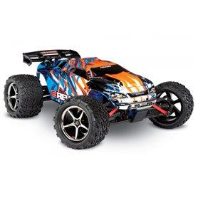Traxxas 71054-1-ORNG E-Revo 1/16 4WD RTR TQ Orange - Med Batteri/Laddare