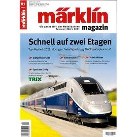 Märklin 353334 Märklin Magazin 1/2021 Tyska