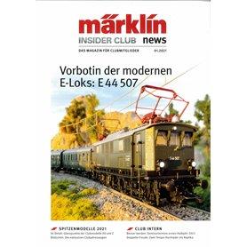Märklin INS012021T Märklin Insider 01/2021 Tyska