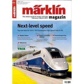 Märklin 353335 Märklin Magazin 1/2021 Engelska