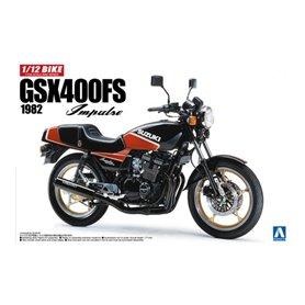 Aoshima 053959 Motorcykel SUZUKI GSX400FS IMPULSE