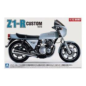 Aoshima 053997 Motorcykel KAWASAKI Z1-R Custom 1978
