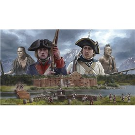 Italeri 6180 THE LAST OUTPOST 1754-1763 FRENCH AND INDIAN WAR - BATTLE SET