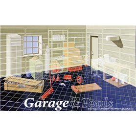 Fujimi 115047 Garage & Tools