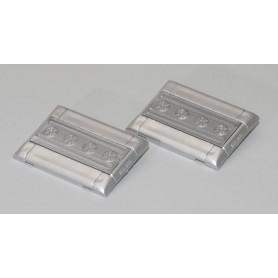 AMW 90154 Klimatanläggning för Setra Top, silver, 2 st