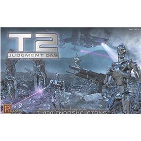 Pegasus Hobbies 9017 Terminator 2 T-800 Endoskeletons & Diorama