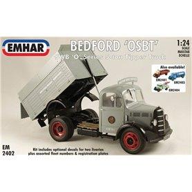 "Emhar 2402 Lastbil Bedford ""OSBT"", SWB ""O""-serien 5-ton tipper truck"
