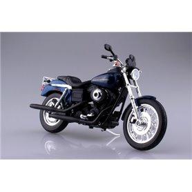 Aoshima 104385 Motorcykel HARLEY-DAVIDSON 2004 DYNA SUPER GLIDE SPORT