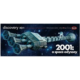 Moebius Models 2001 2001: Space Odyssey 1/350 Discovery XD-1