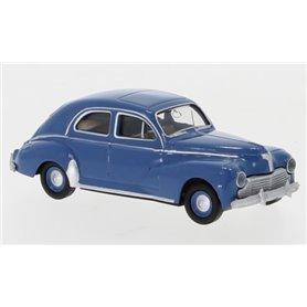 """Brekina 29059 Peugeot 203, blå 1948 """"Von Drummer"""""""