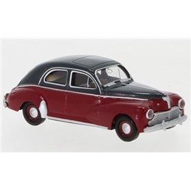 "Brekina 29060 Peugeot 203, mörkgrå/mörkröd, 1948 ""Von Drummer"""