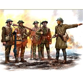 Master Box 35146 Figurer British Infantry Somme Battle, Period 1916