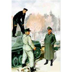 Master Box 3508 Figurer German Tank Crew 1943 - 1945
