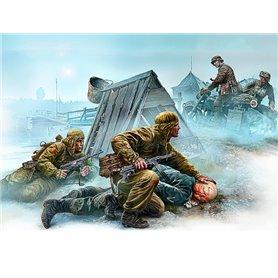 Master Box 35190 Figurer Crossroad, Eastern Front, WWII era