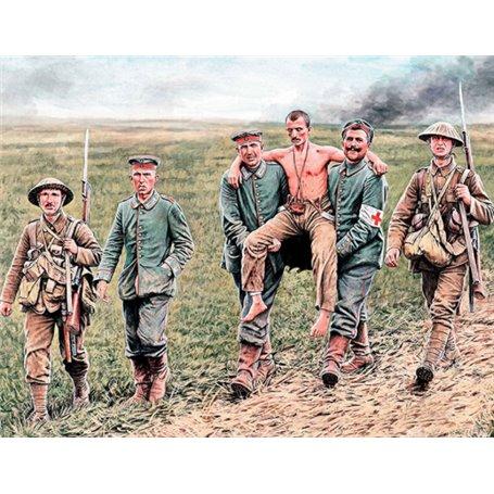 Master Box 35158 Figurer British and German Soliders, Somme Battle 1916