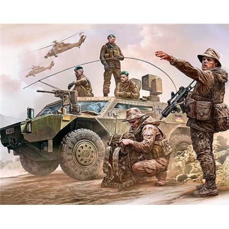 Master Box 35195 Figurer Bundeswehr. German Military Men, Present Day