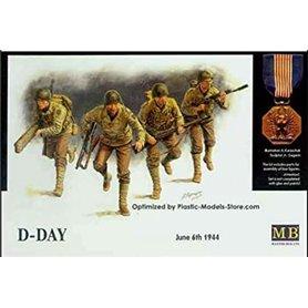"Master Box 3520 Figurer ""D-Day - June 6th 1944"""