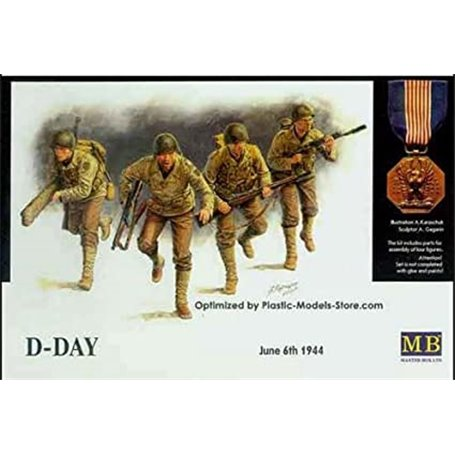 "Master Box 3520 Figurer ""D-Day - June 6th 1944"""