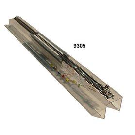 Lux Modellbau 9305.7 Stationär hjulrengörare för skrivbordet, arbetsbänken m.m., för alla H0-rälssystem AC och DC, digital