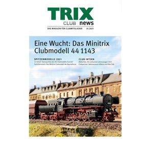 Trix CLUB012021T Trix Club 01/2021, magasin från Trix, 23 sidor i färg, Tyska