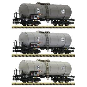 Fleischmann 848028 Vagnsset med 3 tankvagnar Eva DB