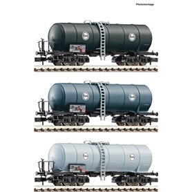 Fleischmann 848029 Vagnsset med 3 tankvagnar Eva DB