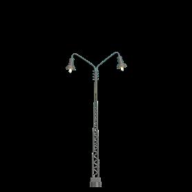 Brawa 84019 Stationslampa, dubbelarm, höjd 120 mm