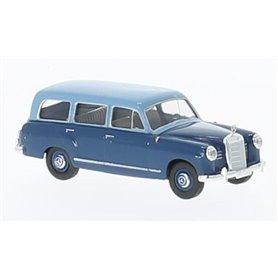 Mercedes 180 Kombi, ljusblå/mörkblå