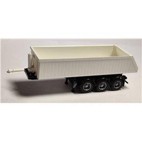 AMW 90624.1 Kögeltrailer, 3-axlig, vit