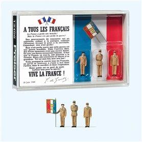 """Preiser 13406 80-årsjubileum"""" Charles de Gaulles"""""""