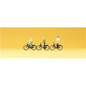 Preiser 79089 Cyklister, 3 st