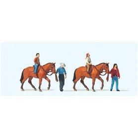 Preiser 10794 Hästridning