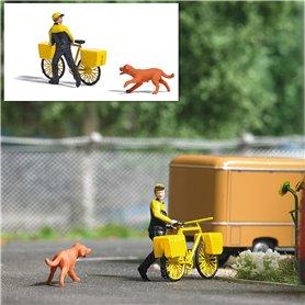 Busch 7885 Post letter carrier