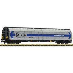 Fleischmann 838318 High capacity sliding wall wagon, DB