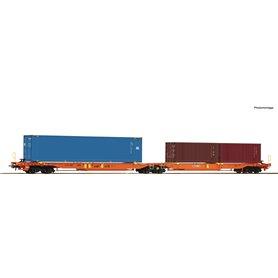 "Roco 77360 Dubbelvagn Sdggmrs/T2000 typ AAE ""Wascosa"""