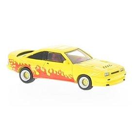 BOS 87246 Opel Manta gul/flames, 1991