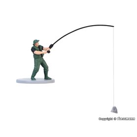 Viessmann 1516 Fisherman, moving