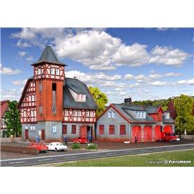 Vollmer 47780 Fire station, five track