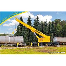 Kibri 12502 Telescopic crane GOTTWALD GS 100.06 T