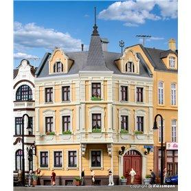 Kibri 38296 Corner terrace house Wochenmarkt