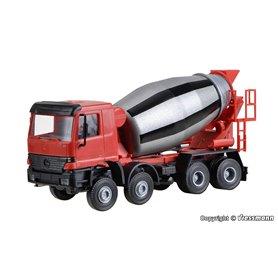 Viessmann 1133 MB Actros betongbil cementmixer, med rörlig trumma