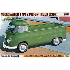 """Hasegawa 21211 VOLKSWAGEN TYPE 2 PIC-UP TRUCK """"1967"""""""