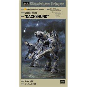 "Hasegawa 64120 Humanoid Unmanned Interceptor Großer Hund ""DACHSHUND"""