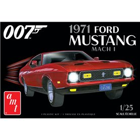 """AMT 1187 Ford Mustang Mach I 1971 """"James Bond 007"""""""