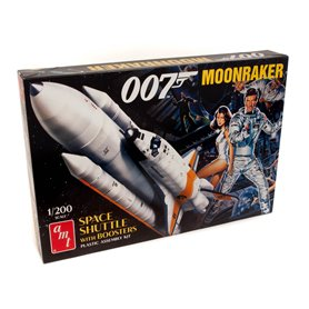 """AMT 1208 Moonraker Shuttle with Boosters """"James Bond"""""""