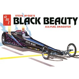 AMT 1214 Steve Mcgee Black Beauty Wedge Dragster