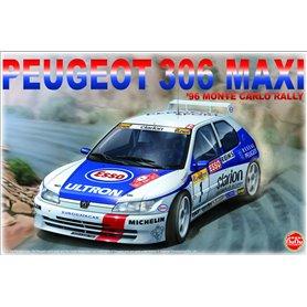 Nunu 24009 Peugeot 306 MAXi '96 MONTE CARLO RALLY
