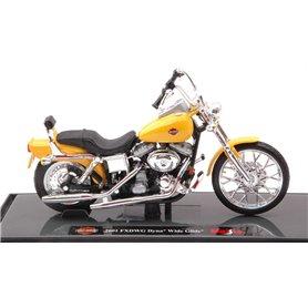 "Maisto 39360-1 Motorcykel Harley Davidson 2001 FXWDWG Dyna ""Wide Glide"""